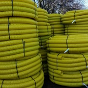 Yellow Perforated Gas Duct