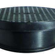 320mm Diameter Plastic Sealed Cover & Frame 25kN