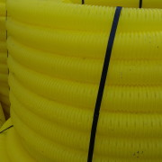 60MM Yellow Perforated Gas Duct