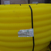 Yellow Perforated Gas Duct Coils