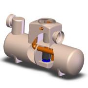Bypass Separator NSBE020 Cutaway
