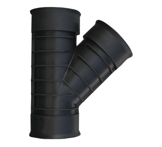 Twin Wall Hdpe Surface Water Drainage System Plastech