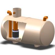 Forecourt separator FS010 Cutaway