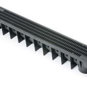 Plastic Linear Channel Drain 1000mm c/w Plastic Grate A15