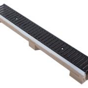 Linear Channel Drain c/w C250 Ductile Iron Grate