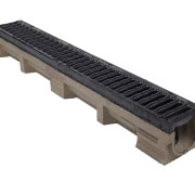 Polymer Concrete Linear Channel Drain c/w D/I Grate
