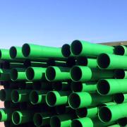 Green PVC CATV/CCTV Duct
