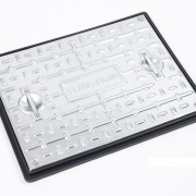 600x450mm Galvanised Steel Cover & plastic Frame Pedestrian
